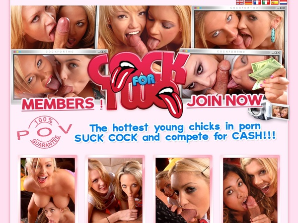 Cock For Two Payment Methods