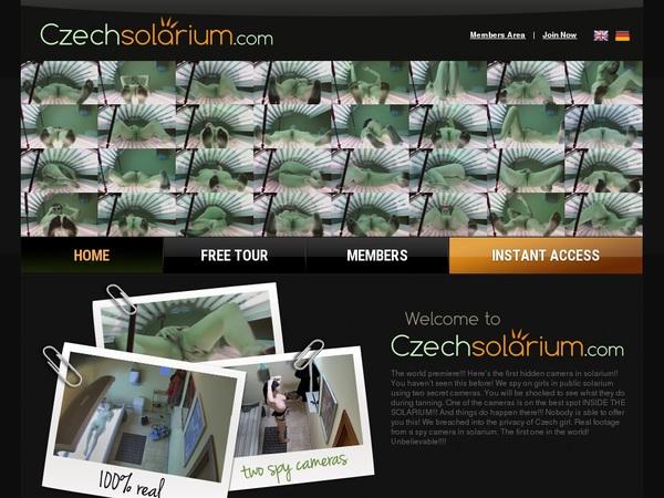 Daily Czech Solarium Account