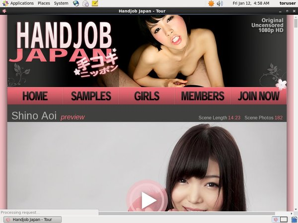 Handjob Japan Trial Membership $1