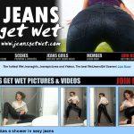 Jeans Get Wet Automatische Incasso