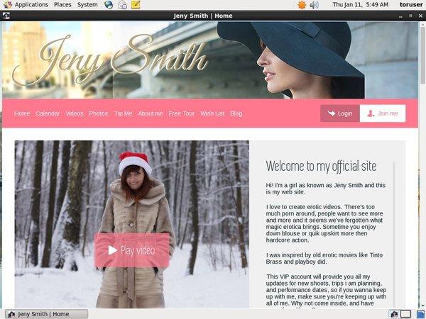 Jenysmith.net Special Offer