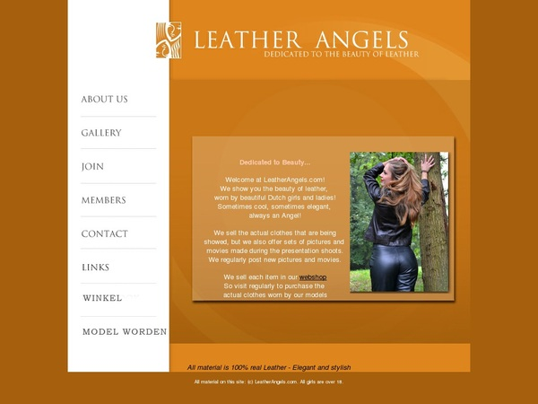Leather Angels Images