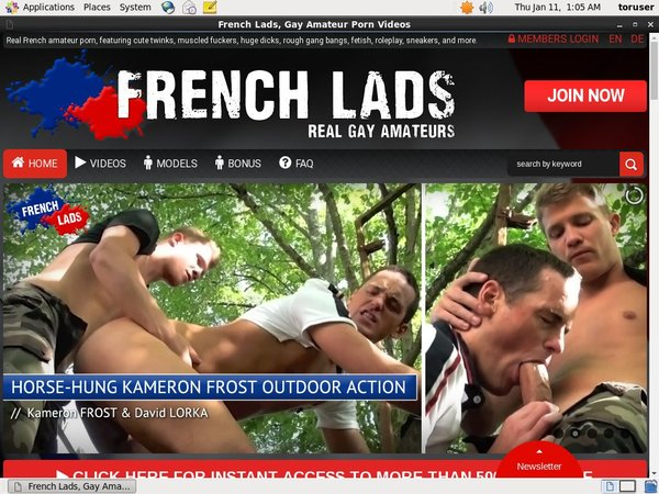 Login Frenchlads.com For Free