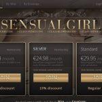 Sensual Girl Toilet