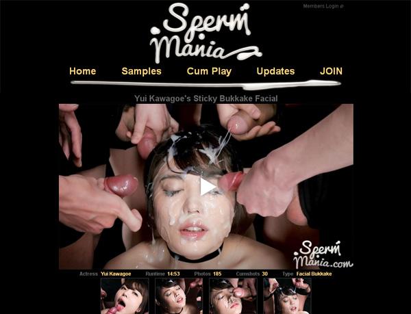 Sperm Mania Password Account