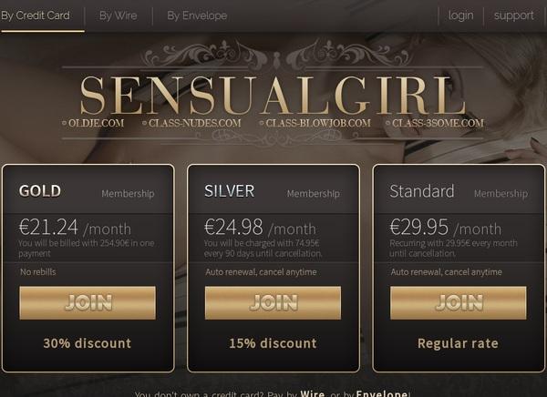 Sensualgirl Discount Order