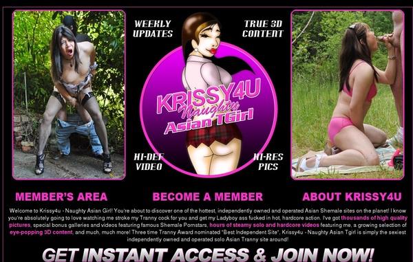 Krissy 4 U Passwort
