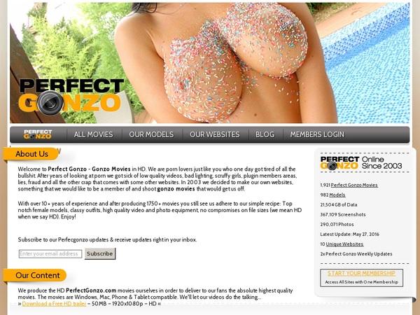 Perfect Gonzo Free Com