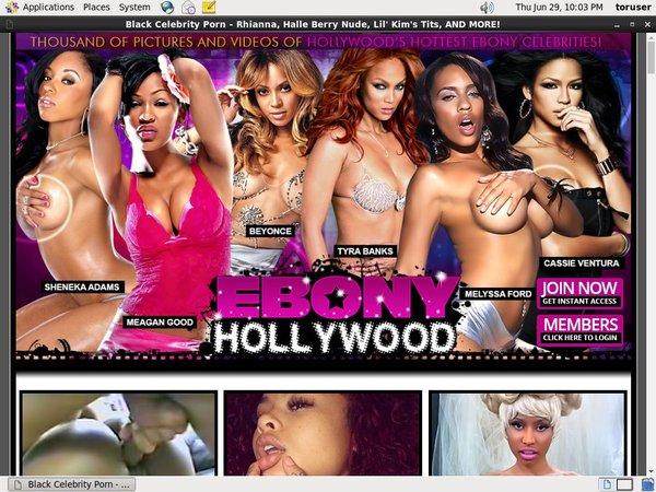 Ebony Hollywood Password List