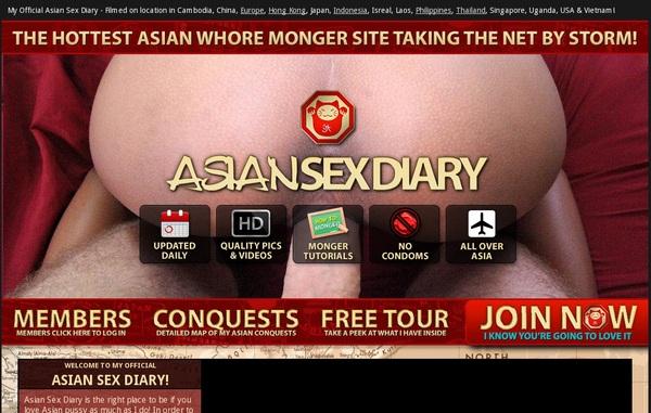 Asiansexdiary.com Free Entry