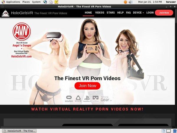 Holo Girls VR Girls