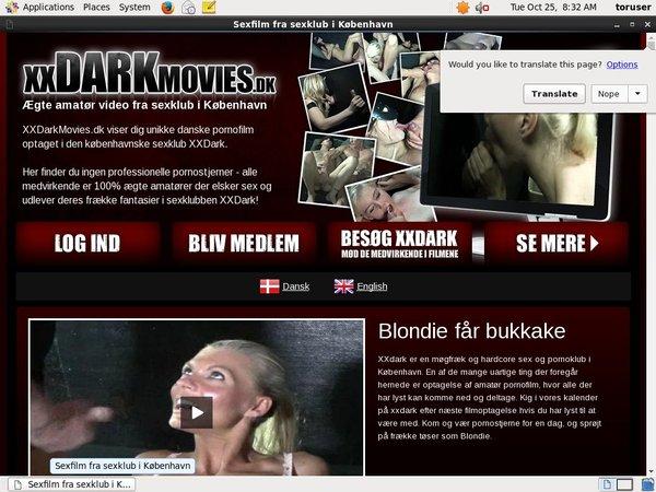 Paypal XX Dark Movies Dk