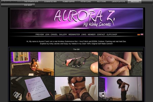 Aurora Z. Checkout Form
