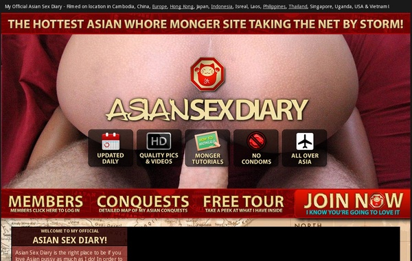 Free Asiansexdiary.com Premium Accounts