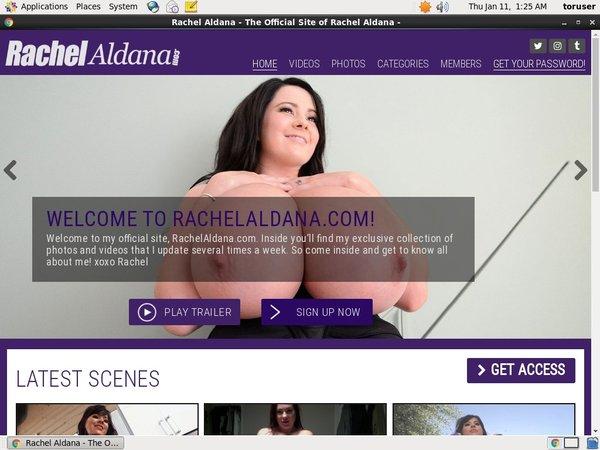 Rachel Aldana Discount Accounts