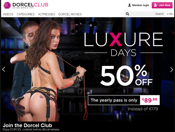Dorcel Club With Online Check
