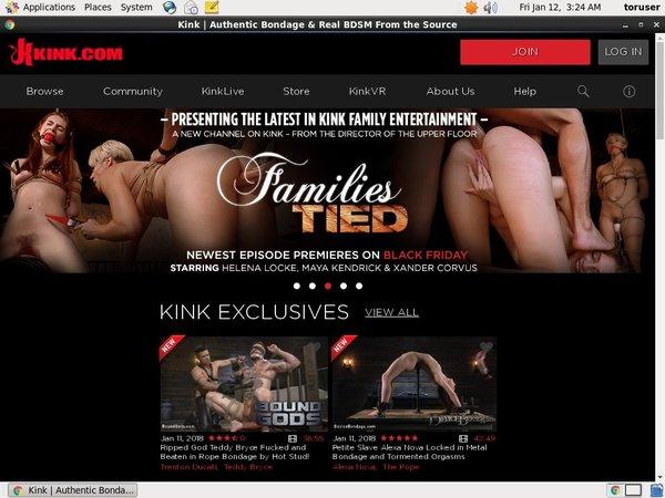 Kink.com Signup Page