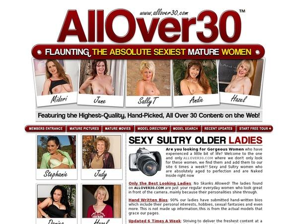 All Over 30 Original Free Premium