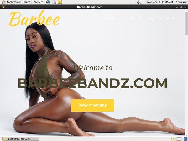 Barbee Bandz User Name Password