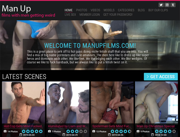 Man Up Films Account And Passwords